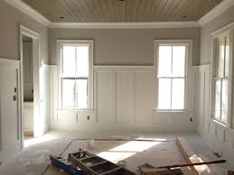 Wainscoting For Living Room Wainscoting Is Installing Wooden Trim And Panels In A Pattern