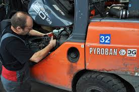 Hsm Driving A Forklift Into A Potentially Explosive Atmosphere