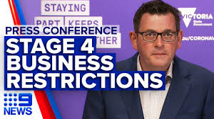 Introduced across the victorian capital of melbourne, the new stage 4 restrictions relate directly to the metropolitan city. Coronavirus Vic Businesses Forced To Close As Stage Four Restrictions Enforced 9 News Australia Youtube