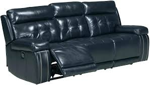 blue leather reclining sofa navy blue leather recliner sofa collection power reclining set dark blue leather