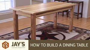 Building Dining Table How To Build A Dining Table 242 Youtube