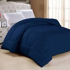 Buy Navy Solid Comforters from Bed Bath & Beyond & Down Alternative Twin Comforter in Navy Adamdwight.com