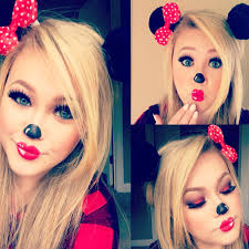 minnie mouse makeup tutorial uploaded to my chel go check it out if you like fun makeup youtu be vbop7oeyu