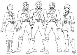 Astounding Power Rangers Colouring Games Color Pages Ranger Coloring