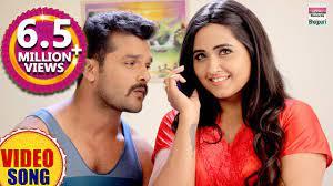 kajal raghavani romances with khesari