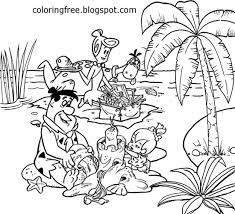 LETS COLORING BOOK: Flintstones