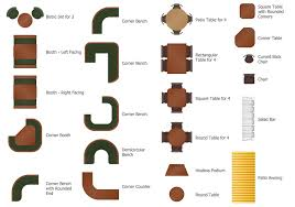 furniture for floor plans. How To Create Restaurant Floor Plan In Minutes Furniture For Plans R
