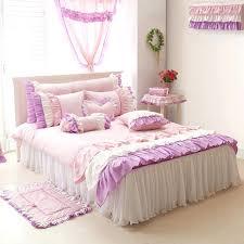 full duvet cover size purple pink white girls ruffle full queen size duvet cover bedding king