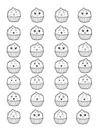 Cup Cakes 93040 Cup Cakes Disegni Da Colorare Per Adulti