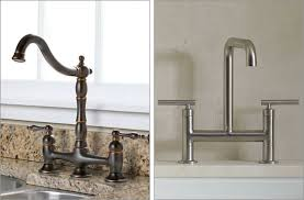 Brilliant Cifial Two Handle Bridge Kitchen Faucet With Regard To