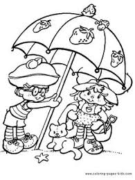 strawberry shortcake color page coloring pages for kids cartoon characters coloring pages printable coloring pages color pages kids coloring pages