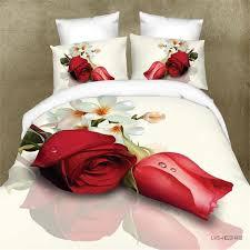 2018 flower gift 2016 love rose 3d bed set duvet cover queen king 3d