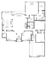 Open Floor Plans For Single Story Spanish Style Homes 4386 Sq Ft Open Floor Plans For One Story Homes