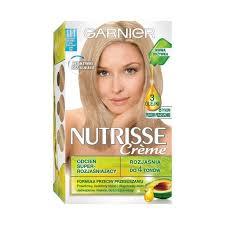 garnier nutrisse crème hair dye 111 very very light ash blonde superrozjaśniający