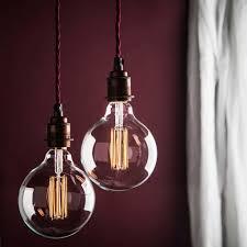 Large Filament Light Bulbs Large Globe Led Filament Bulb E27 And B22