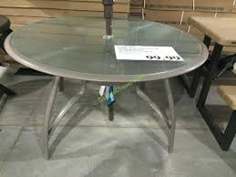 costco teak table round tables costco tabletop patio heater costco patio table with fire pit