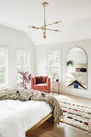 antique oriental rug in bedroom