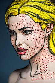 make up optical illusion face painting 3