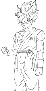 Dragon Ball Z Coloring Pages Goku Super Saiyan 4 With Vegeta 6 And