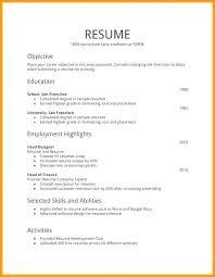 Plain Text Resume Template Plain Resume Template Plain Resume Template Plain Text Resume