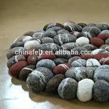 stone rugs wool rug rock