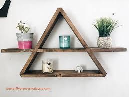 essential oil shelf hexagon wall shelf honeycomb shelf wall decor unique triangle shelf winged triangle shelf