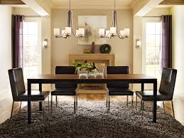 how high to hang chandelier above dining table best of livingroom two chandeliers in dining room