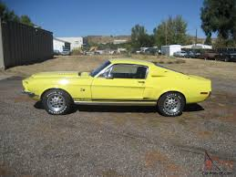 Shelby GT 500 KR Ford Mustang 428 CJ Special Yellow paint WT6066