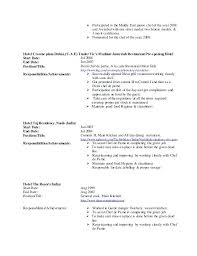 Sample Resume Of Chef Culinary Resume Samples Chef Resume Chef ...