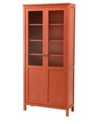 hemnes glass door cabinet cabinet cabinet with panel glass door red brown 3 1 2 furniture