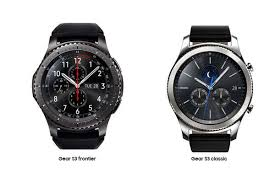 samsung watch s3. the gear s3 frontier is quantum leap forward in smart watch design, with built-in lte capability. cellular-enabled unveiled at 2016 samsung