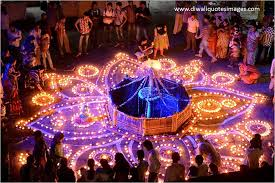 Indian Festival Decoration Celebration Of Diwali In India Festival Of Lights