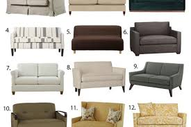 Small Space Seating: Sofa & Loveseats Under 60 Inches Wide