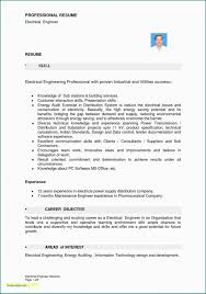 Electrical Engineering Resume Objective Resume Templates