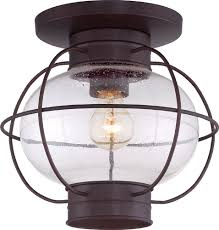 quoizel cor1611cu cooper vintage copper bronze outdoor ceiling light fixture loading zoom