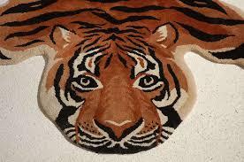 tiger rug carpet