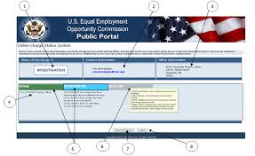 Eeoc Online Charge Status System Tip Sheet