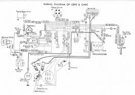 honda ca95 wiring diagram honda wiring diagrams collections
