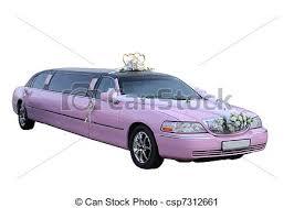 Rose Limosine Rose Limousine Mariage Rose Separately Fond Mariage