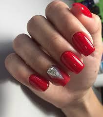 38 Trendy Red Nails For Holiday 2019 Nechty Nehty Gelové Nehty