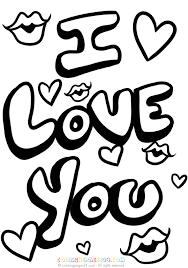 Afbeeldingsresultaat Voor Kleurplaten Love You Alicia Coloring
