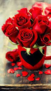 The Best Beautiful Red Rose Bouquet Hd ...