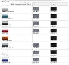 2013 Honda Fit Color Chart 2012 Honda Fit Colors Onsurga