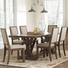 rustic dining set. The Bridgeport Dining Room Set Features A Rustic Table With An Old-world Style O