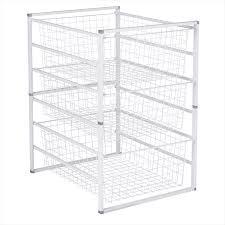 ... Storage Cabinets, Wire Rack Storage Drawers Wire Basket Drawers Ikea  Underwear Shirt Undershirt Jeans Clothes ...
