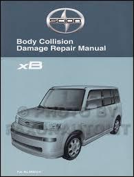 2005 scion xb wiring diagram manual original 2004 2006 scion xb body collision repair shop manual original
