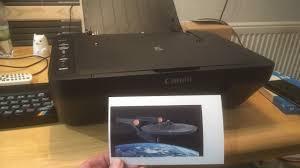 Wenn sie den drucker zum ersten mal installieren, wird die pixma software and app descriptions. Canon Mg3050 Printer Youtube