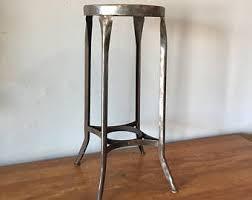 vtg 1940 50s simmons furniture metal medical. Vintage Early UHL Toledo Furniture Stool Bare Metal Patina 28\ Vtg 1940 50s Simmons Medical B