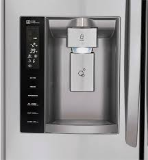 lg refrigerator lmxs27626d. lg 26.7 cu. ft. 4-door french door refrigerator with thru-the-door ice and water silver lmxs27626s - best buy lg lmxs27626d