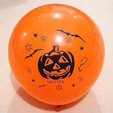 WJP <b>Halloween Balloon</b> Party Supplies, 100pcs 10 Styles, Ghost ...